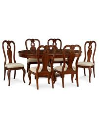 Macys Round Dining Room Table by Bordeaux Pedestal Round Dining Table Furniture Macy U0027s