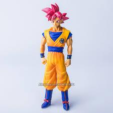 Dragon Ball Z SHF Super Saiyan God Red Son Goku Ultra Instinct PVC Figure Collection Model