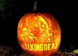 Walking Dead Pumpkin Stencils Free Printable by 30 Pumpkin Carvings Inspired By Pop Culture Pophangover