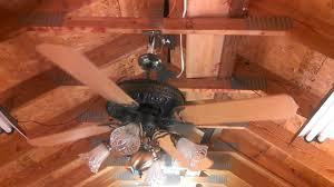 Belt Driven Ceiling Fan Motor by Casablanca Columbia Ii Ceiling Fan Youtube