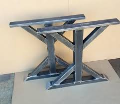 Metal Table Legs Diy Awesome Best Industrial Design Images On Dining