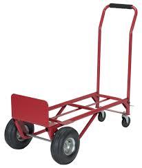 Vestil 500 Lb. Capacity Convertible Hand Truck / Platform Dolly ...