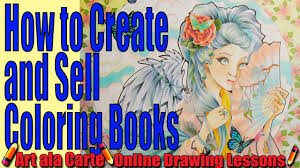 How To Create And Sell Your Own Coloring Books Tips Tricks