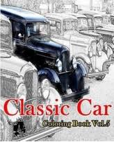 Classic Car Coloring Book Vol5 American Muscle Cars