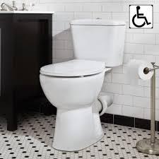 floor mount back outlet toilet rear exit american standard flush