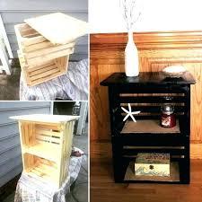 Milk Crate Storage Furniture Medium Size Of Wooden Crates Rectangular Large