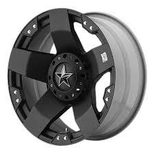 Amazon.com: XD Series By KMC Wheels XD775 Rockstar Matte Black Wheel ...