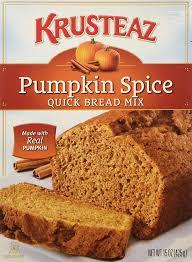 Libbys Pumpkin Bread Recipe Cranberry by Amazon Com Krusteaz Pumpkin Spice Quick Bread Mix 15 Ounce Pack