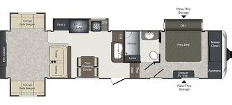 Montana Fifth Wheel Floor Plans 2004 by Laredo