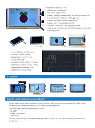 Patio Mate 10 Panel Screen Room by Amazon Com Geeekpi 5 Inch Hdmi Monitor Lcd Resistive Touch Screen