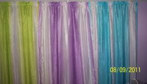 your zone crushed ombre girls bedroom curtains walmart com