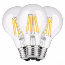 e27 led filament bulb clear grass edison 2w 4w 6w 8w a60 g60 light