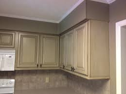 How To Restain Kitchen Cabinets Colors Refinishing Kitchen Cabinets White How To Fix Worn Spots On
