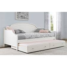 Trundle Bed Walmart by 280 00 Better Homes And Gardens Lillian Twin Daybed White