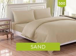 500 SAND Bed Sheets