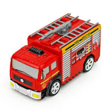 1:58 Mini Truck Model Fire Engine Diecast Toy Rc Car With Remote ...