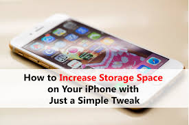 How to Increase Storage Space on Your iPhone with Just a Simple Tweak