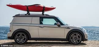 The Mini Clubman Camper Is One Of Companys Three Concept Vehicles Designed To Show Off