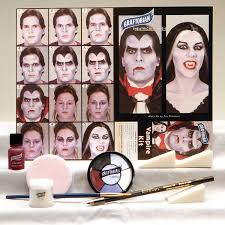 Halloween Contact Lenses Amazon by Amazon Com Vampire Makeup Kit Health U0026 Personal Care
