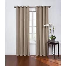 Blue Crushed Voile Curtains by Sheer Curtains U0026 Drapes Window Treatments The Home Depot