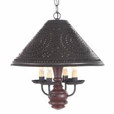Punched Tin Lamp Shade Country by Rustic Country Lamp Shades Home Furniture Diy Lighting Lamps