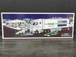 2003 HESS TRUCK & 2 RACERS Donated By: WPBS SUPPORTER Buy It Now ... Hess Custom Hot Wheels Diecast Cars And Trucks Gas Station Toy Oil Toys Values Descriptions 2006 Truck Helicopter Operating 13 Similar Items Speedway Vintage Holiday On Behance Collection With 1966 Tanker Miniature 18 Wheeler Racer Ebay Hess Youtube 2012 Rescue Video Review 5 H X 16 W 4 L For Sale Wildwood Antique Malls