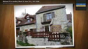mont jean 21 maison f5 à vendre mont st jean 21 103 550