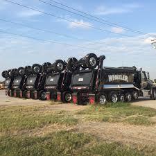 100 Dump Trucks For Sale In Iowa Super Lift Trailing Axle MAXLEDB Air Suspension PTO Powered