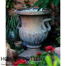Impress Design Rustic Clay French Urn Pot