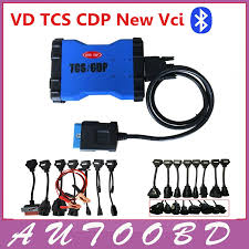 ᐊNew Blue VD TCS CDP PRO Plus With Bluetooth Cdp Pro For Cars ...