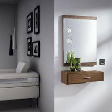 Consola y espejo Cabin de Dissery Nuestro recibidor bina con
