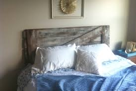 Lively Grace: Barn Door; Headboard Style Bedroom Good Looking Diy Barn Door Headboard Image Of At Plans Headboards 40 Cheap And Easy Ideas I Heart Make My Refurbished Barn Door Headboard Interior Doors Fabulous Zoom As Wells Full Rustic Diy Best On Board Pallet And Amazing Cottage With Cre8tive Designs Inc Fniture All Modern House Design Boy Cheaper Better Faux Window Covers Youtube For Windows