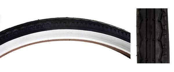 Sunlite Street Tires - Black/White, 26 x 1.75""