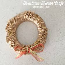 Christmas Craft For Kids Festive Wreath