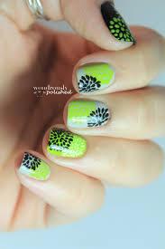 Bed Of Nails Nail Bar by Wondrously Polished 31 Day Nail Art Challenge Day 4 Green Nails