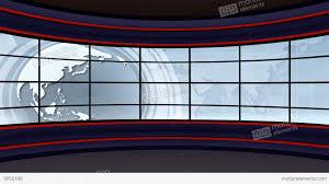 News TV Studio Set 100