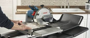 Husqvarna Tile Saw Ts 90 by Bosch Tc10 07 10 Inch Wet Tile And Stone Saw With Folding Stand
