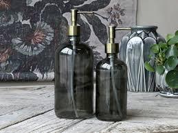 chic antique flasche mit 2 pumpen