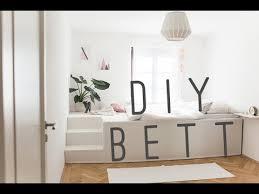 diy bed selfmade podest bed podest bett