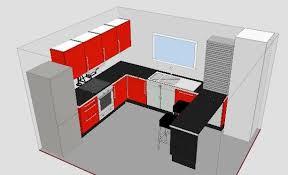 ikea cuisine 3d pour plans cuisine ikea a large kitchen with ash doors ikea