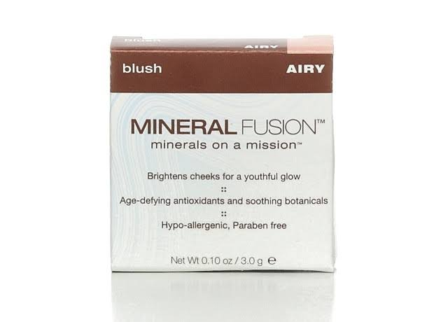 Mineral Fusion Cosmetics Pressed Blush - Airy, 3g