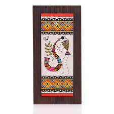 Wooden Wall Hanging Jute Art Warli WedTree ReturnGifts