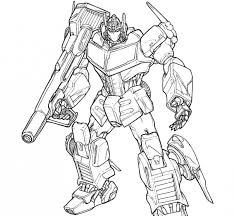 Fashionable Design Ideas Transformers Optimus Prime Coloring Pages AZ In Pictures To Color