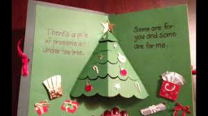 27 Handmade Christmas Card Ideas 2017 3D Pop Up With Inside Cool Cards