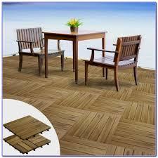 Kon Tiki Wood Deck Tiles by Interlocking Polywood Deck Patio Tiles Decks Home Decorating