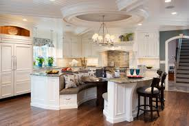 Island For Eight Traditional Kitchen