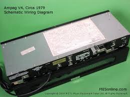 Ampeg V4 Cabinet For Bass by 1979 Ampeg V4 Guitar Amplifier With Ampeg V4 Speaker Cabinet