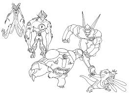 Ben 10 Alien Force Coloring Pages 12