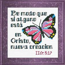 Nueva Creacion II Corintios 517 Spanish Cross Stitch