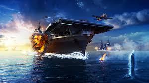 fonds d ecran 3840x2160 porte avions avions explosions world of